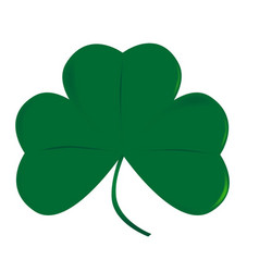 Lucky irish shamrock vector