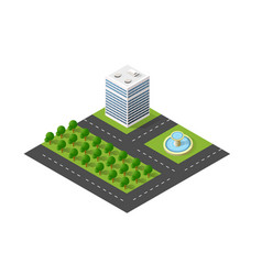 Module block city urban cityscape vector
