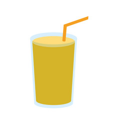 Smoothie drink icon vector
