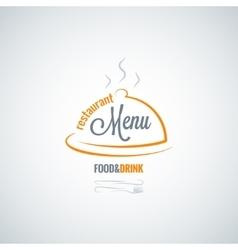 food and drink restaurant menu background vector image vector image