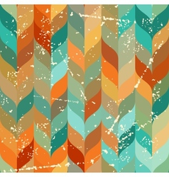 Seamless grunge pattern in retro style vector image vector image