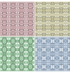 Seamless Colorful background Collection - vector image