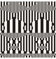 striped pattern vector image vector image