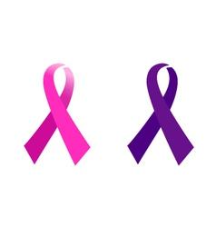 Awareness Pink ribbon vector