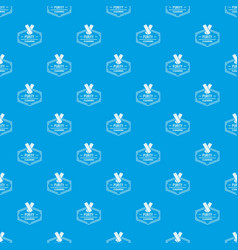 cleaning pattern seamless blue vector image