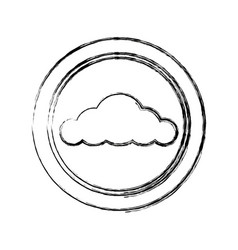 Cloud weather climate nature meteorology forecast vector