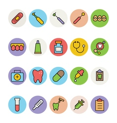 Dental Icons 1 vector