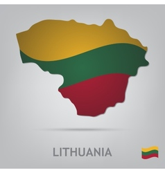 Lithuania vector