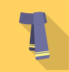 Scarf icon for web and vector