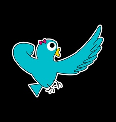 Super Lady-bird vector image