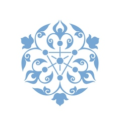 Traditional Arabic ornament vector