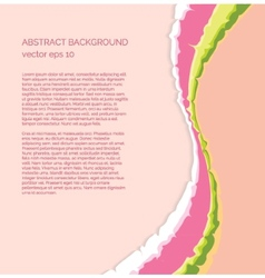 Elegant abstract colorful background vector image