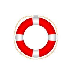 lifebuoy icon isolated on white background vector image