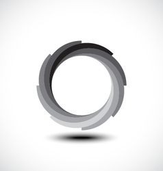 Abstract Infinite Loop icon vector image