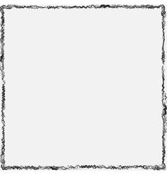 Curl Grunge Frame vector image