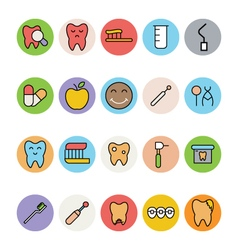 Dental Icons 4 vector