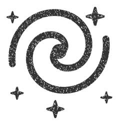 Galaxy Stars Grainy Texture Icon vector