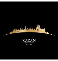 Kazan Russia city skyline silhouette vector