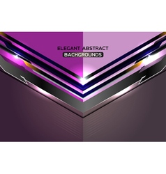 Modern abstract template violet background vector