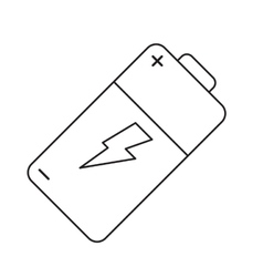 Pictogram battery charge alkaline lighting vector