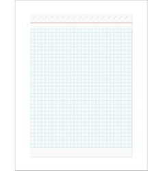 Retro Checkered Sheet vector image