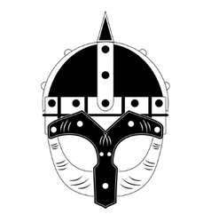 Viking Helmet vector