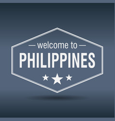 Welcome to philippines vector