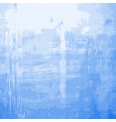 Blue Grainy Messy Wall vector image vector image