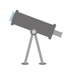Telescope tool icon vector