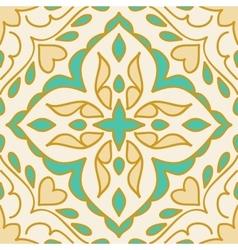 Colorful Moroccan tiles ornaments vector