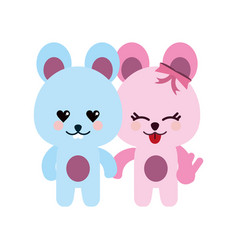 cute animal icon image vector image
