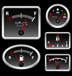 gas full set vector image