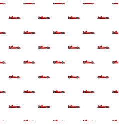 sport car side view pattern vector image