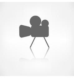 Video camera icon Media symbol vector