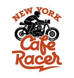 Cafe racer 004 vector
