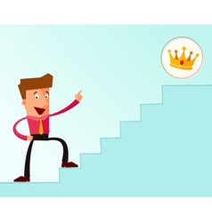Stairway to the success vector