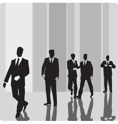 Businessmen vip-persons vector image