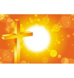 Easter jesus cross background 3 vector