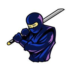 Steady Ninja vector image vector image