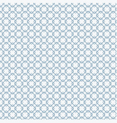 abstract blue squares pattern on white background vector image
