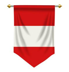 Austria pennant vector