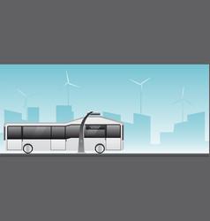 Autonomous electric bus vector