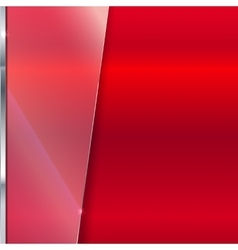 Elegant background with glass banner vector