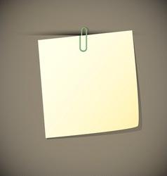 Green read paper vector image