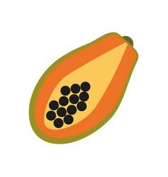 healthy fruit icon vector image