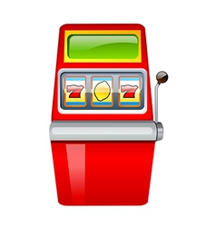 Icon gamble machine vector