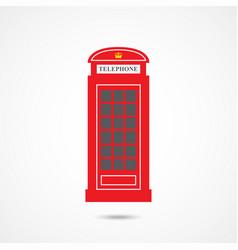 london telephone box vector image
