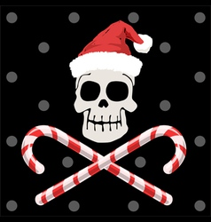 Pirate christmas vector image