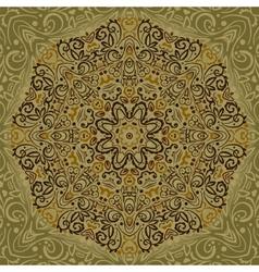 Beautiful Mandala Background vector image vector image