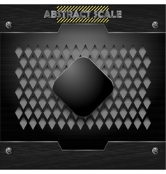 metal mesh grid texture vector image